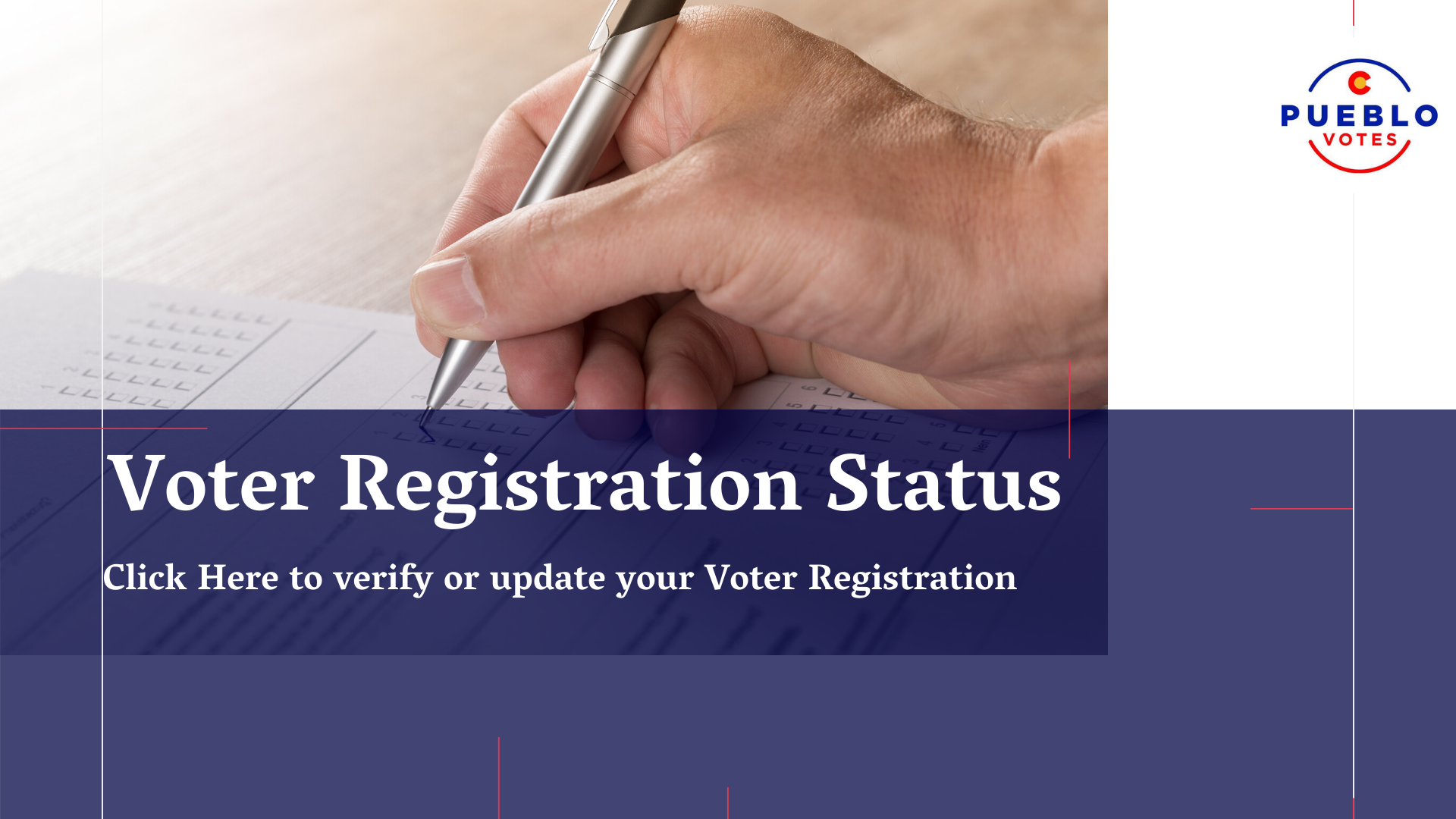 Voter REgistration Status