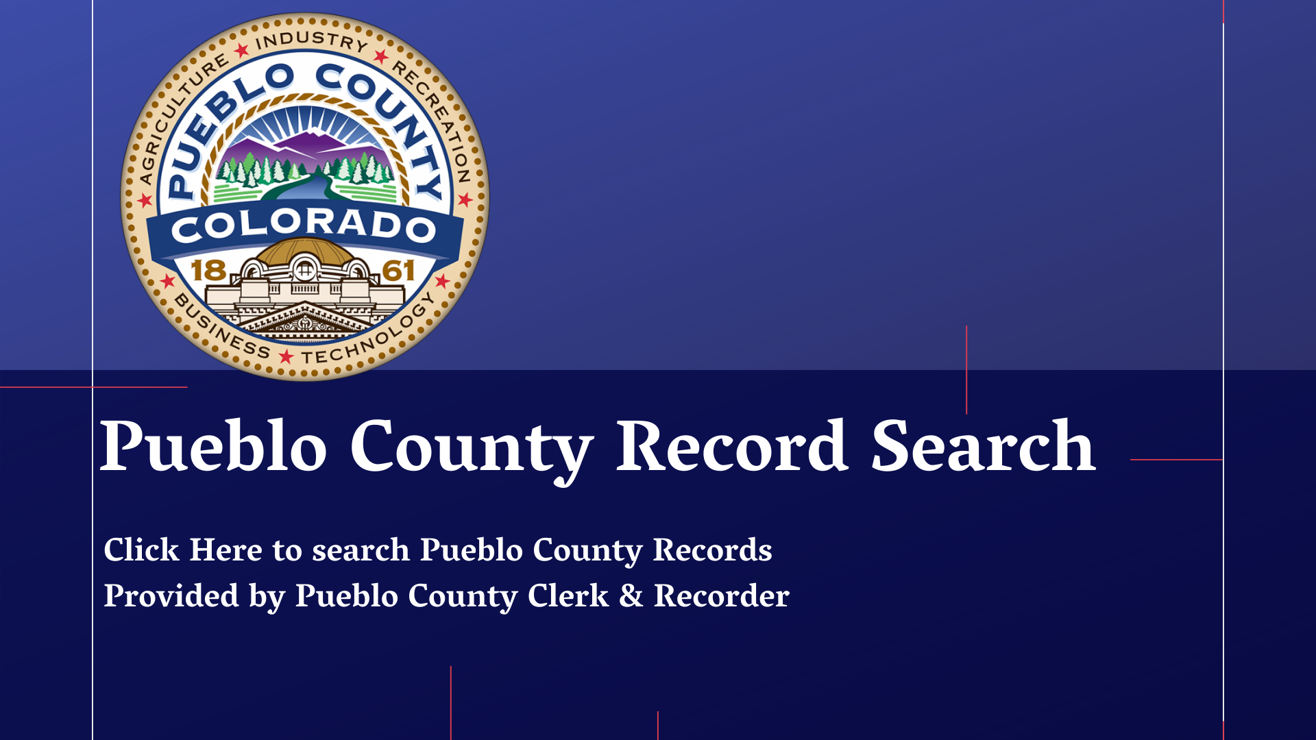 Pueblo county record search